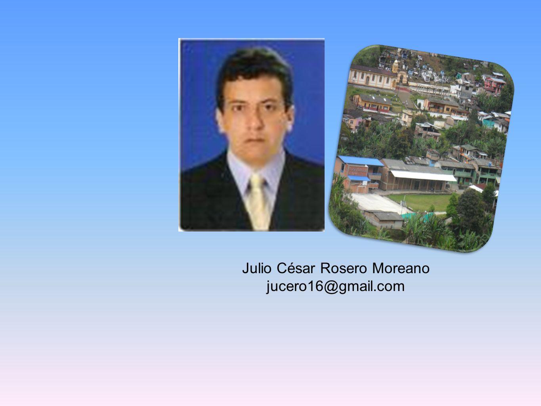 Julio César Rosero Moreano