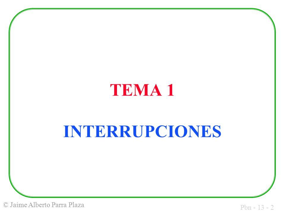 TEMA 1 INTERRUPCIONES
