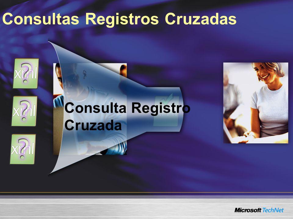 Consultas Registros Cruzadas