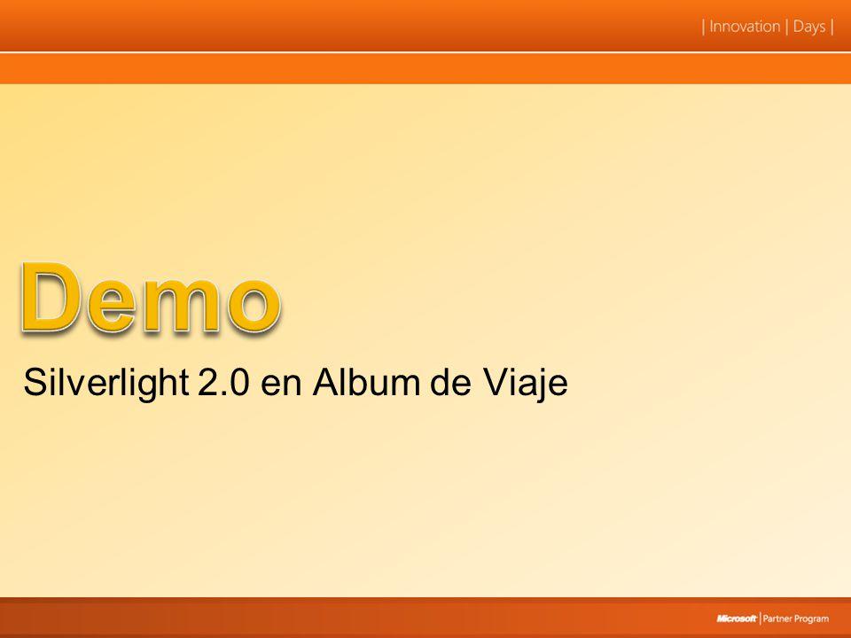 Demo Silverlight 2.0 en Album de Viaje