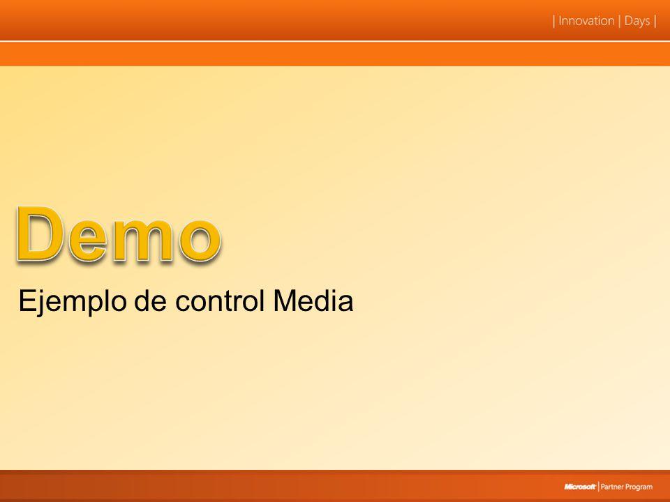 Demo Ejemplo de control Media