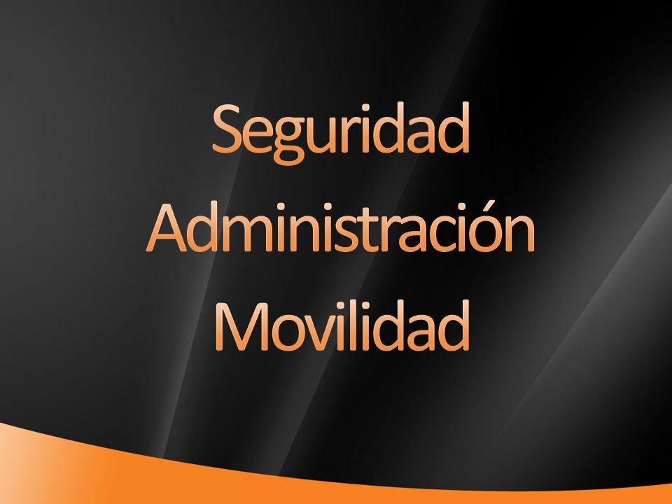 Seguridad Administración Movilidad 4/1/2017 7:11 PM