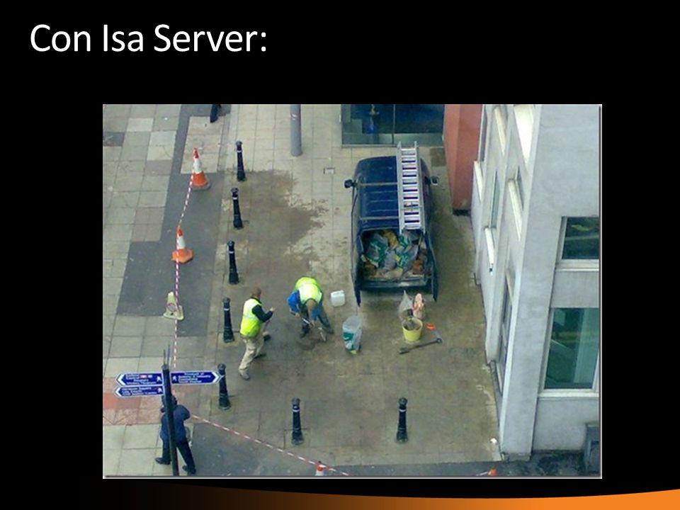 Con Isa Server: