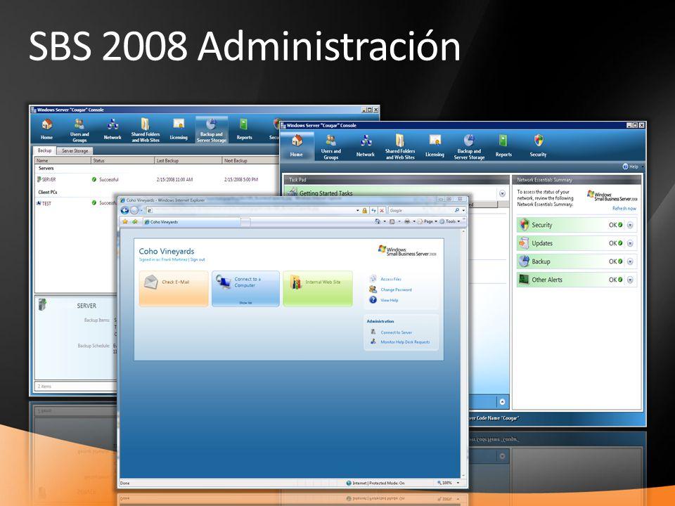 SBS 2008 Administración