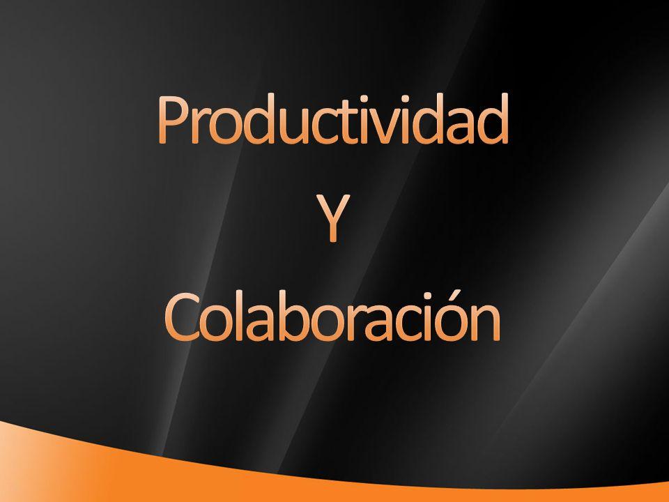Productividad Y Colaboración 4/1/2017 7:11 PM