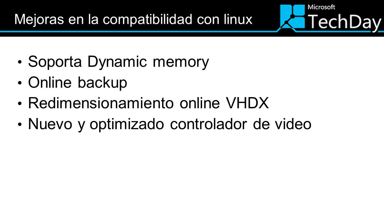Mejoras en la compatibilidad con linux