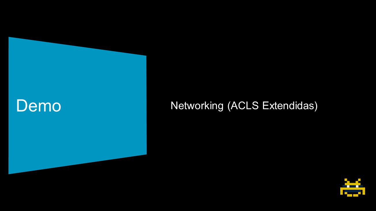 Demo Networking (ACLS Extendidas)