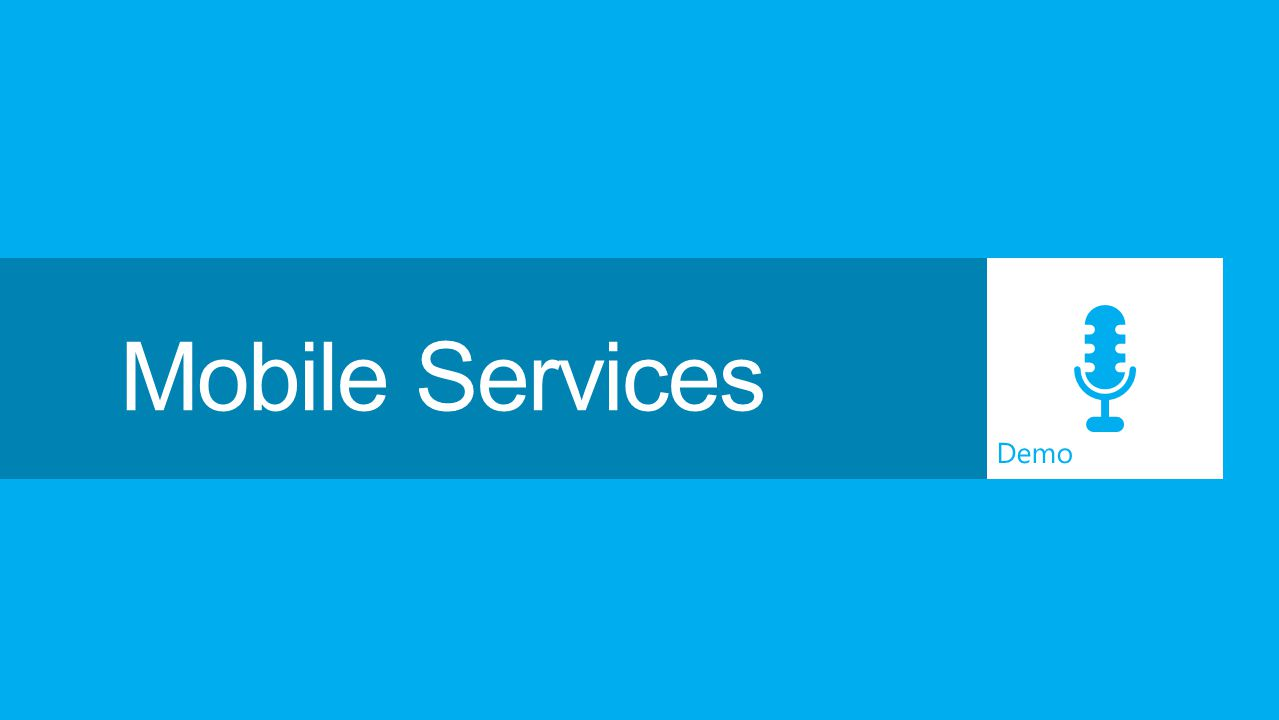 Demo Mobile Services
