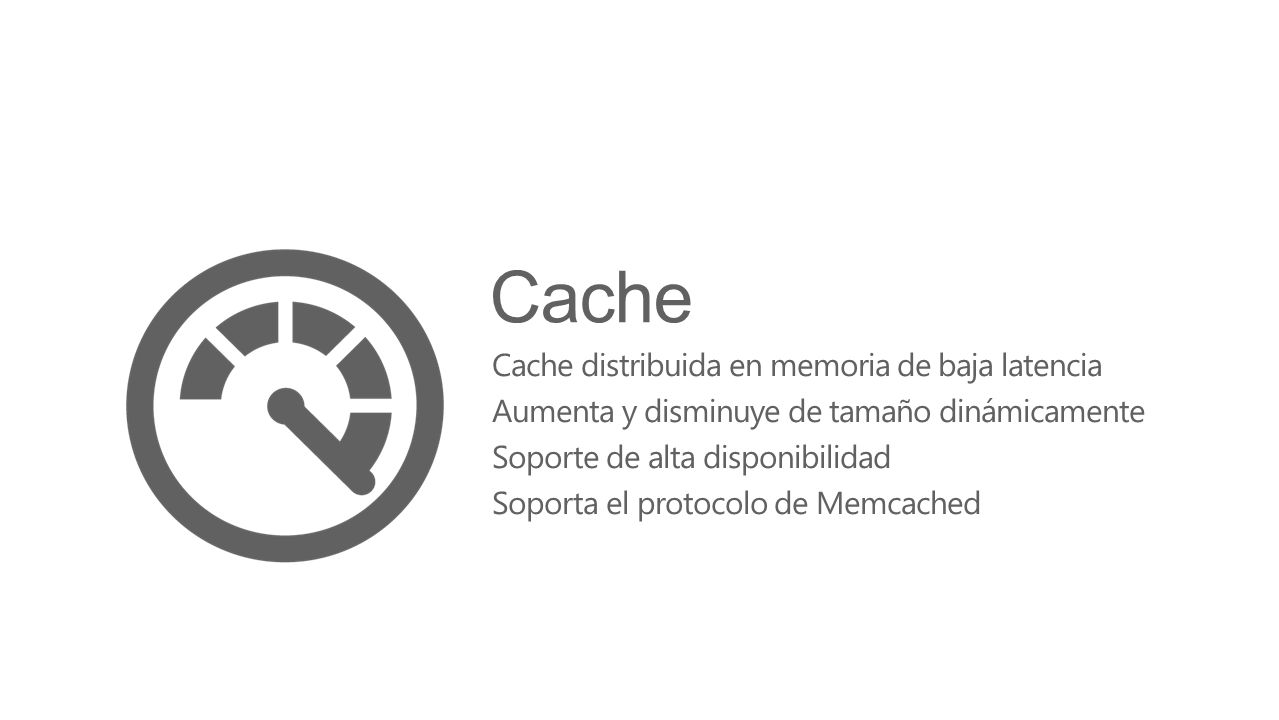 Cache Cache distribuida en memoria de baja latencia