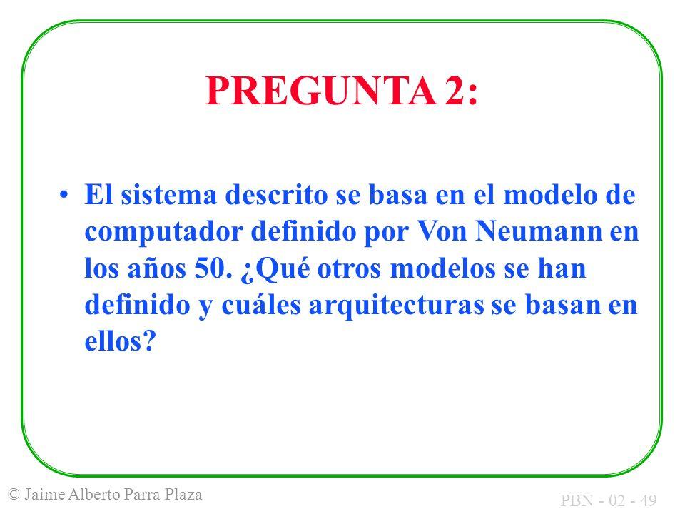 PREGUNTA 2: