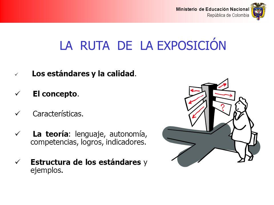 LA RUTA DE LA EXPOSICIÓN
