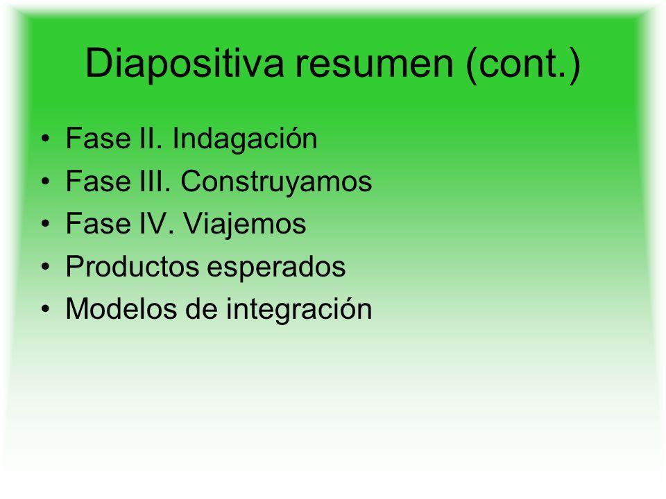 Diapositiva resumen (cont.)