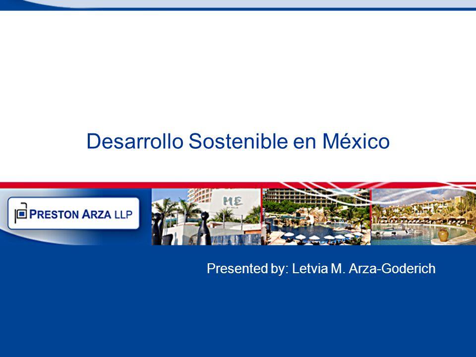Desarrollo Sostenible en México