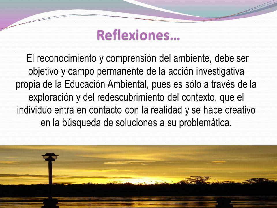 Reflexiones…