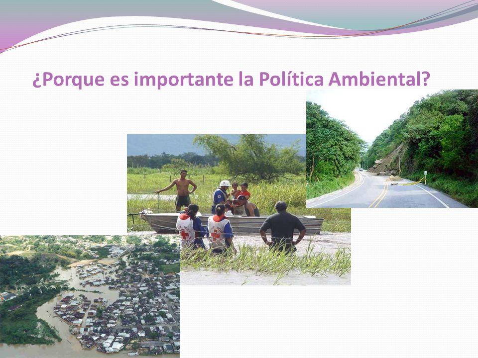 ¿Porque es importante la Política Ambiental