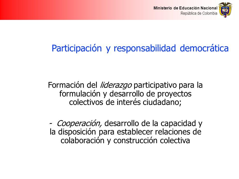 Participación y responsabilidad democrática