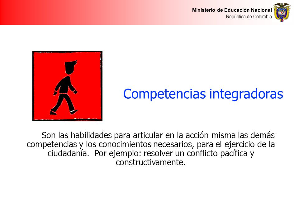 Competencias integradoras