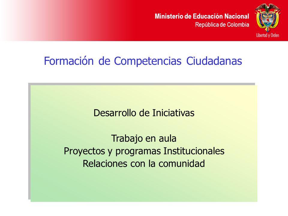 Formación de Competencias Ciudadanas