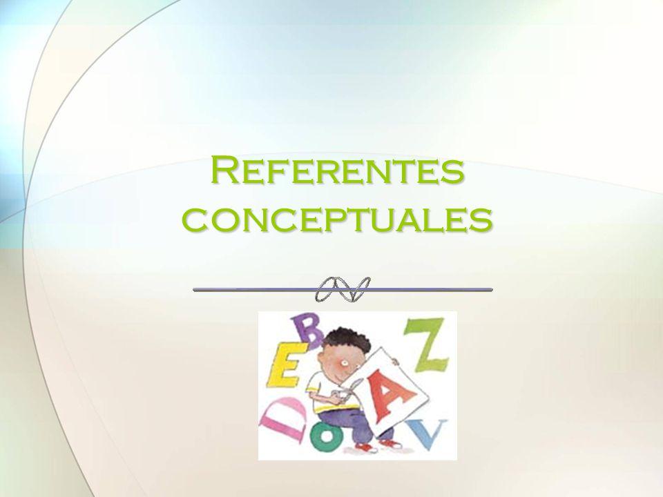Referentes conceptuales