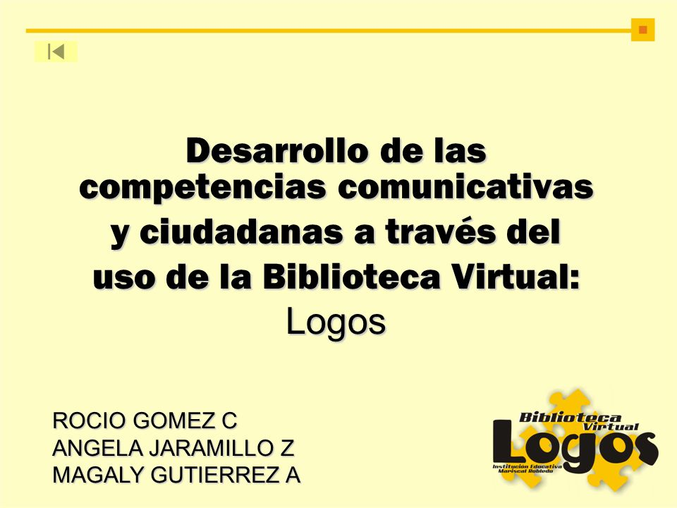 Desarrollo de las competencias comunicativas y ciudadanas a través del