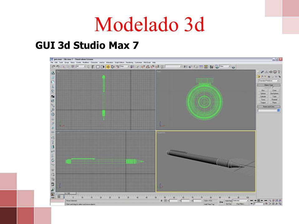 Modelado 3d GUI 3d Studio Max 7