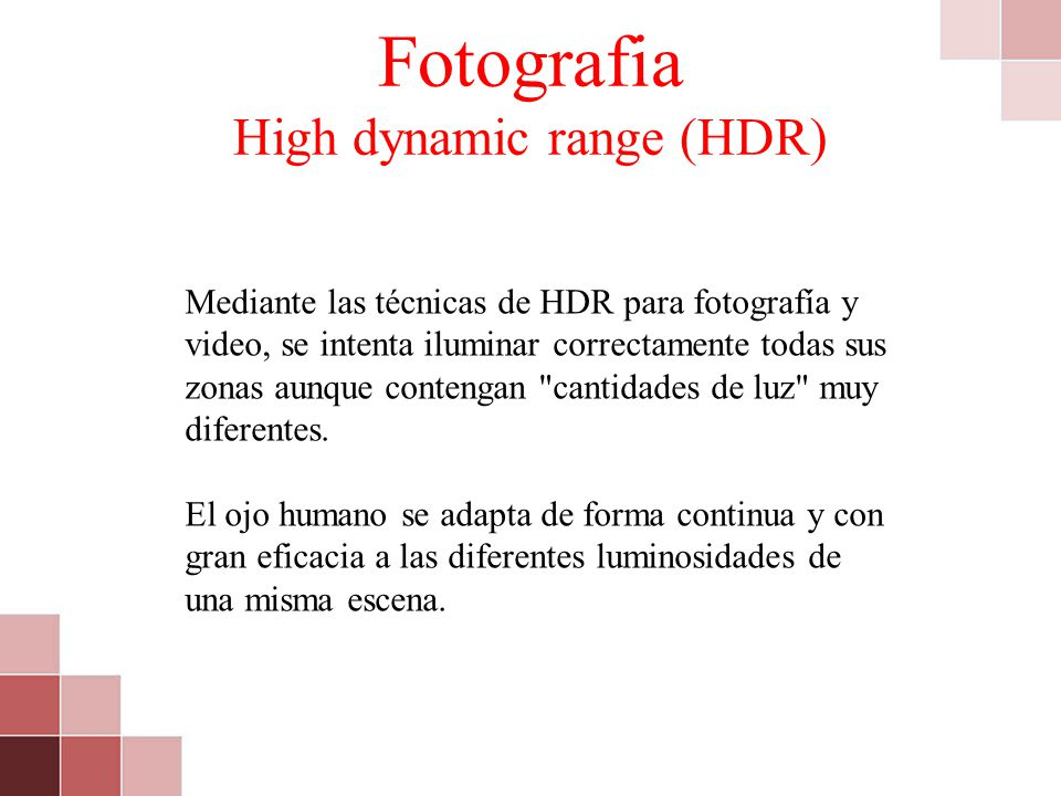 Fotografia High dynamic range (HDR)