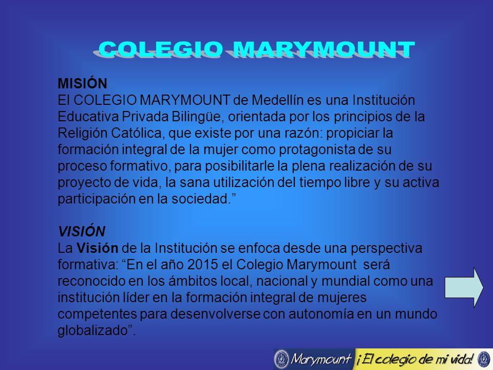 COLEGIO MARYMOUNT MISIÓN