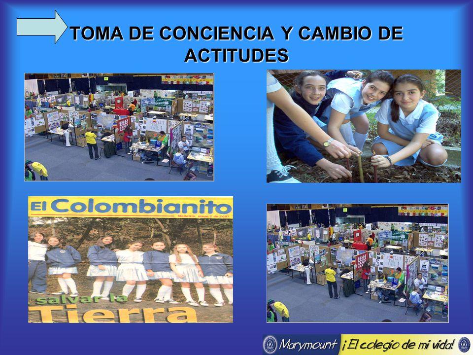 TOMA DE CONCIENCIA Y CAMBIO DE ACTITUDES