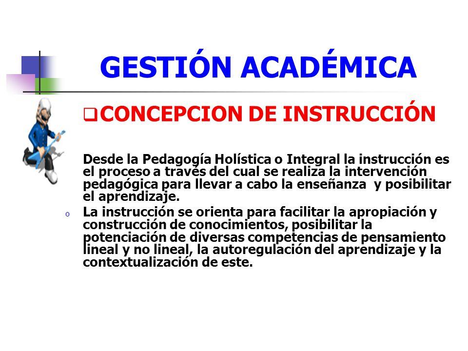 CONCEPCION DE INSTRUCCIÓN