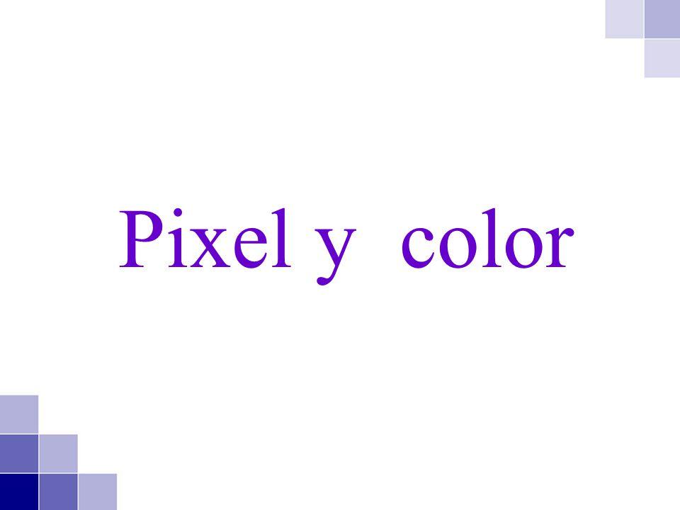 Pixel y color