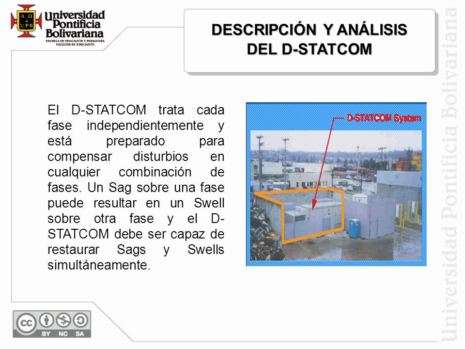 DESCRIPCIÓN Y ANÁLISIS DEL D-STATCOM