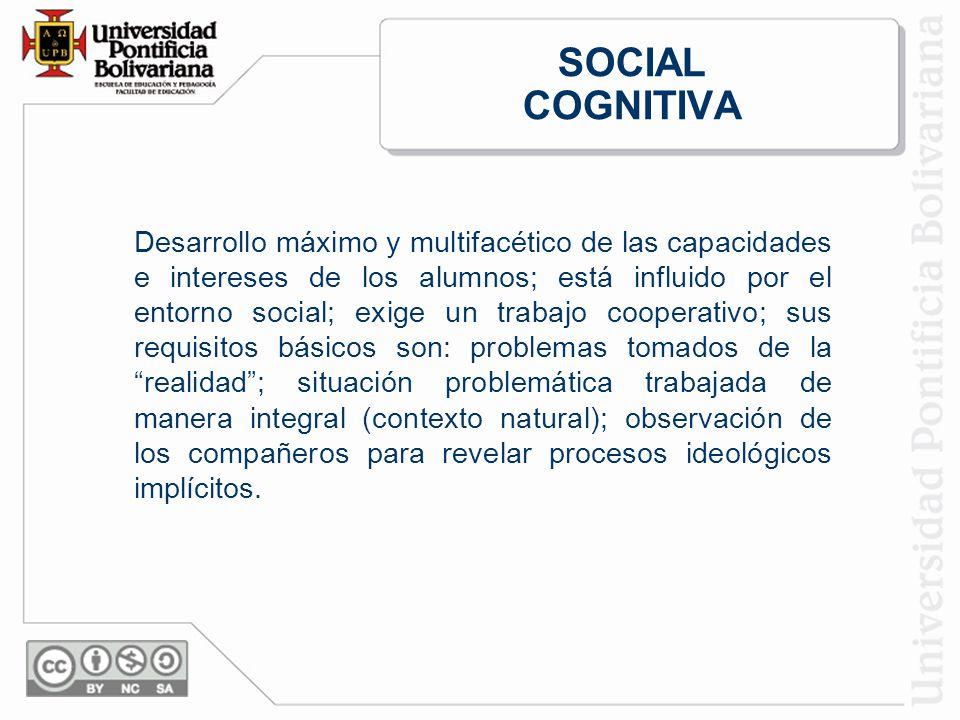 SOCIAL COGNITIVA