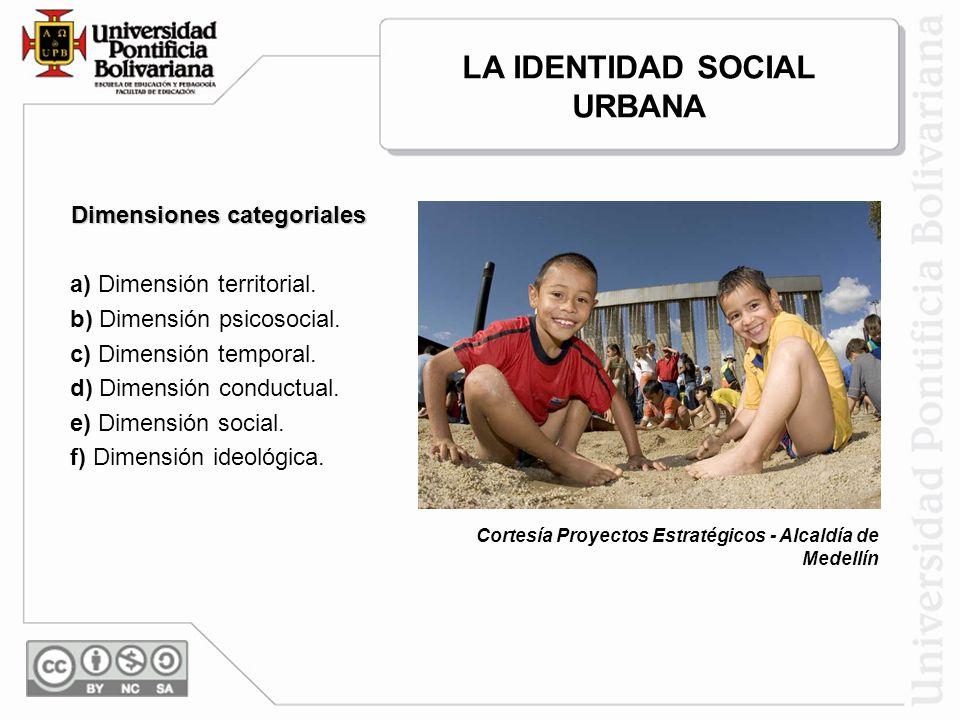 LA IDENTIDAD SOCIAL URBANA