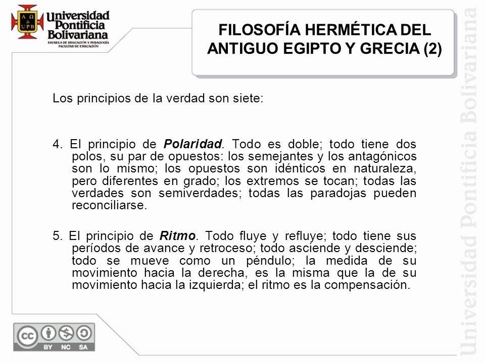 FILOSOFÍA HERMÉTICA DEL ANTIGUO EGIPTO Y GRECIA (2)