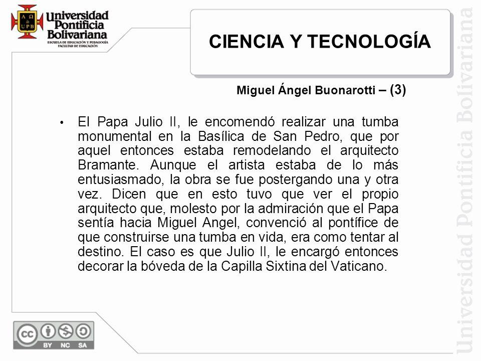 Miguel Ángel Buonarotti – (3)