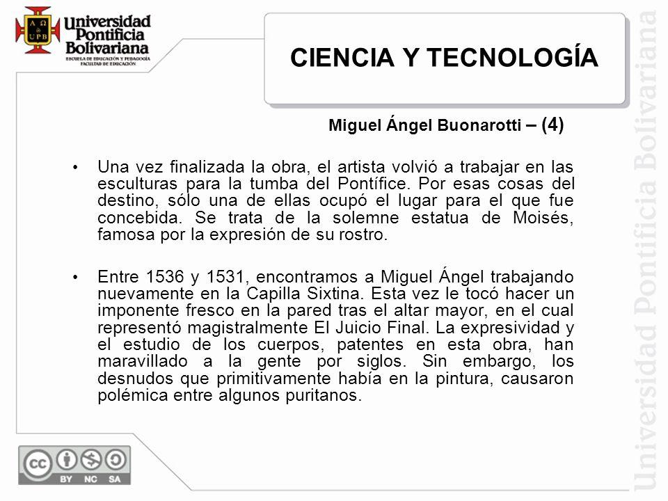 Miguel Ángel Buonarotti – (4)