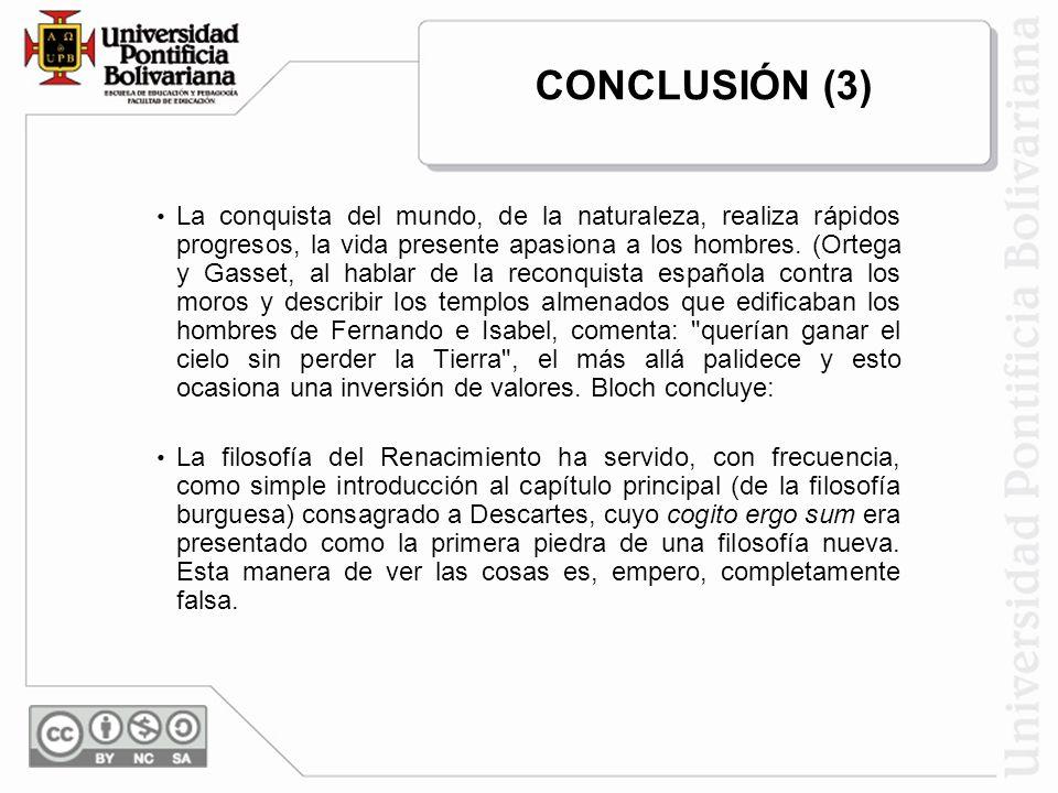 CONCLUSIÓN (3)