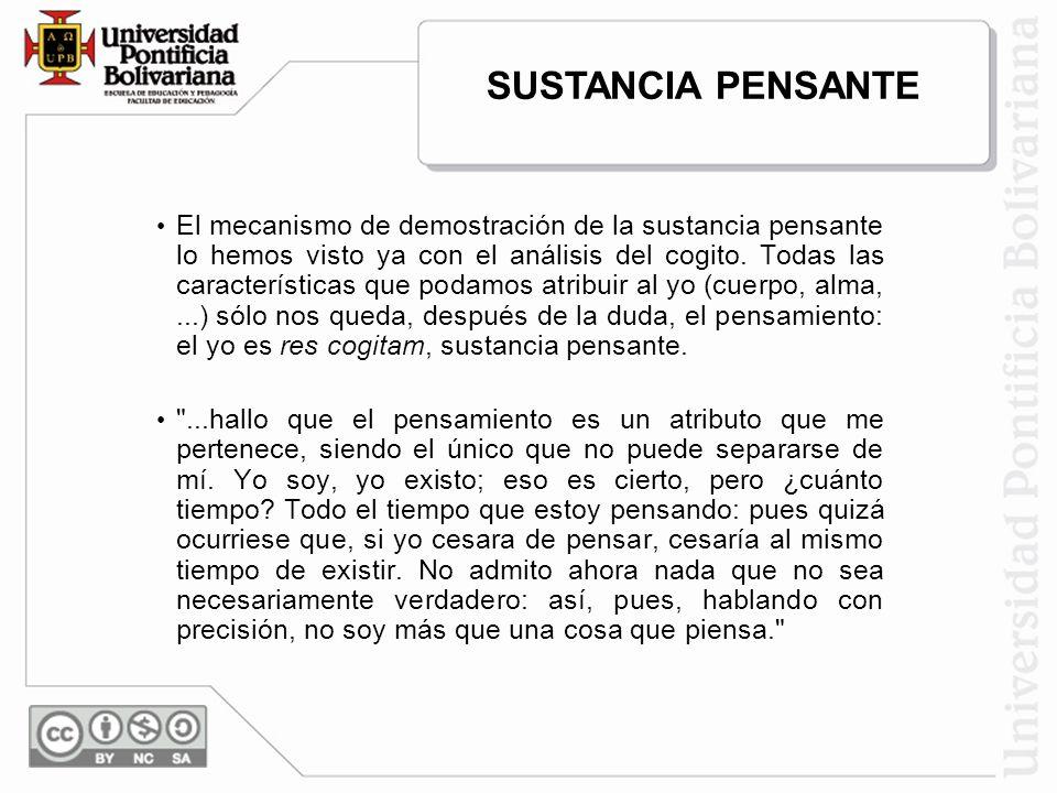 SUSTANCIA PENSANTE