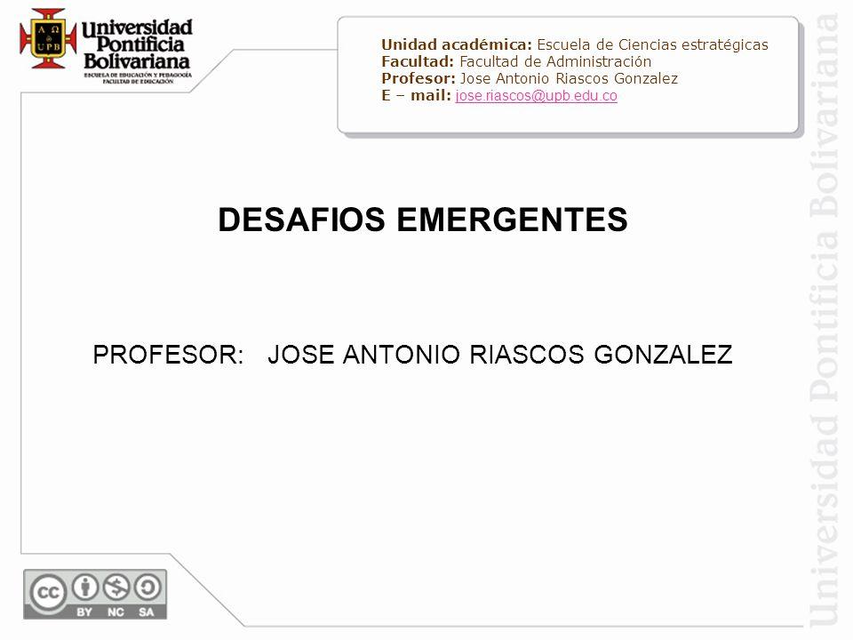 PROFESOR: JOSE ANTONIO RIASCOS GONZALEZ