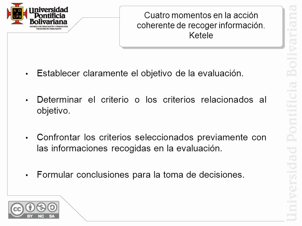 Cuatro momentos en la acción coherente de recoger información. Ketele