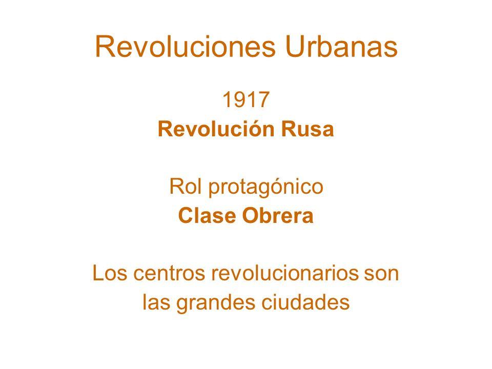 Los centros revolucionarios son