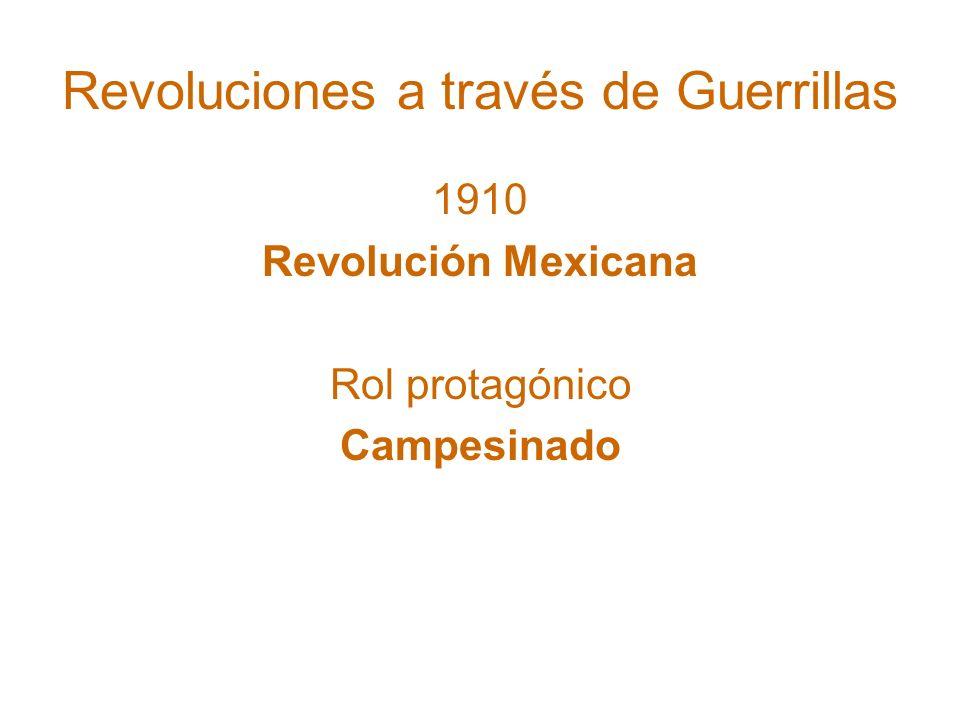 Revoluciones a través de Guerrillas