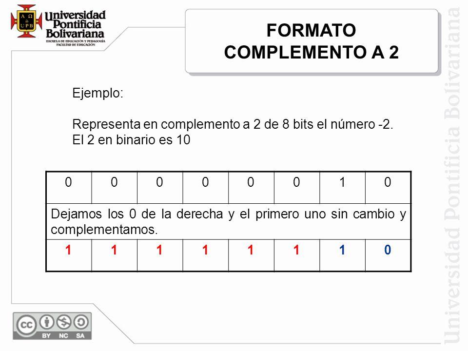FORMATO COMPLEMENTO A 2 1 Ejemplo: