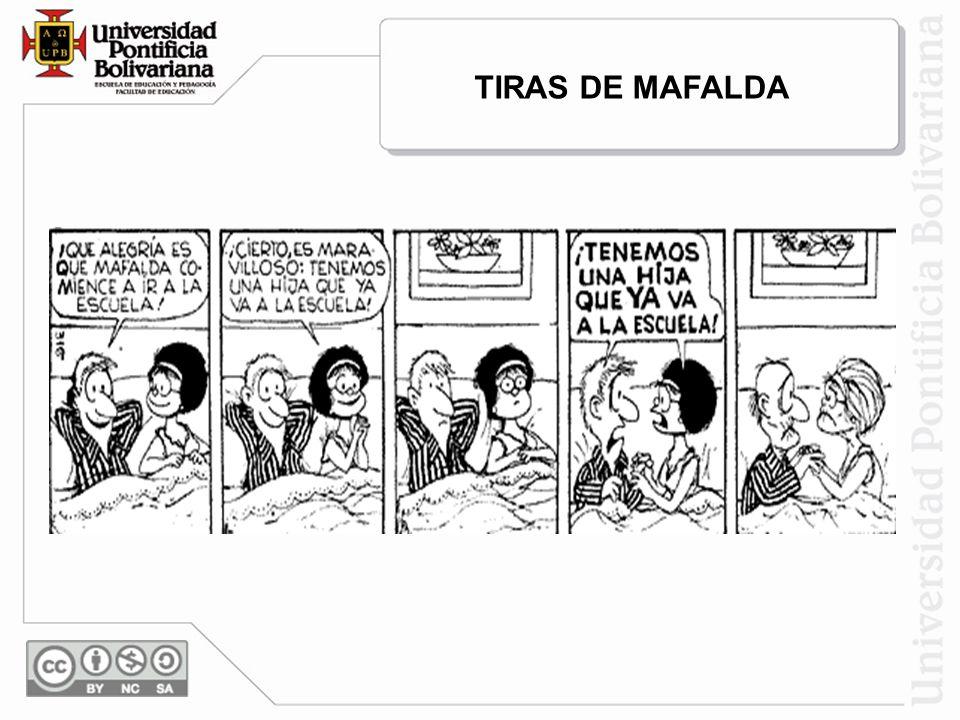 TIRAS DE MAFALDA