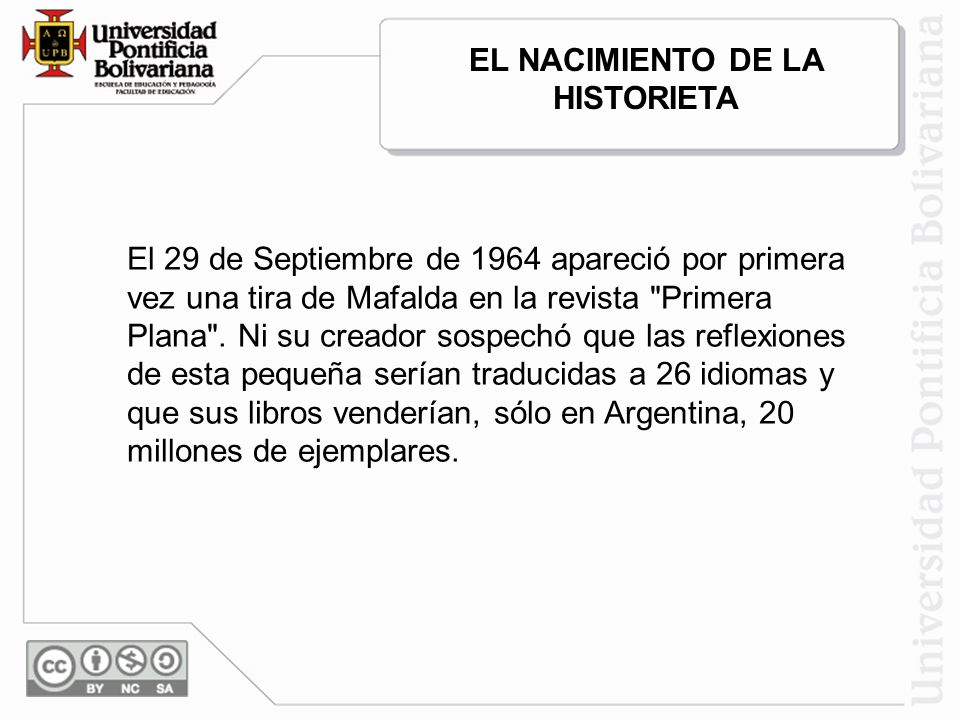 EL NACIMIENTO DE LA HISTORIETA