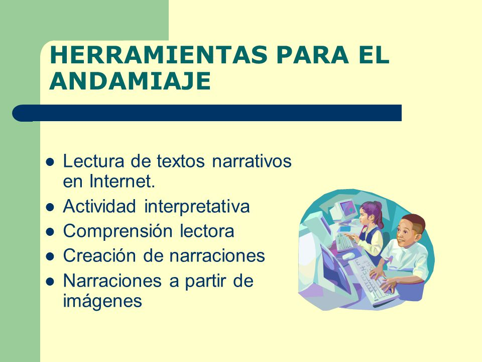 HERRAMIENTAS PARA EL ANDAMIAJE