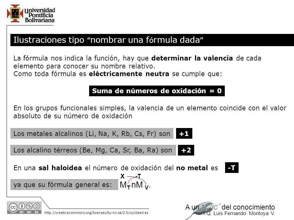 Suma de números de oxidación = 0