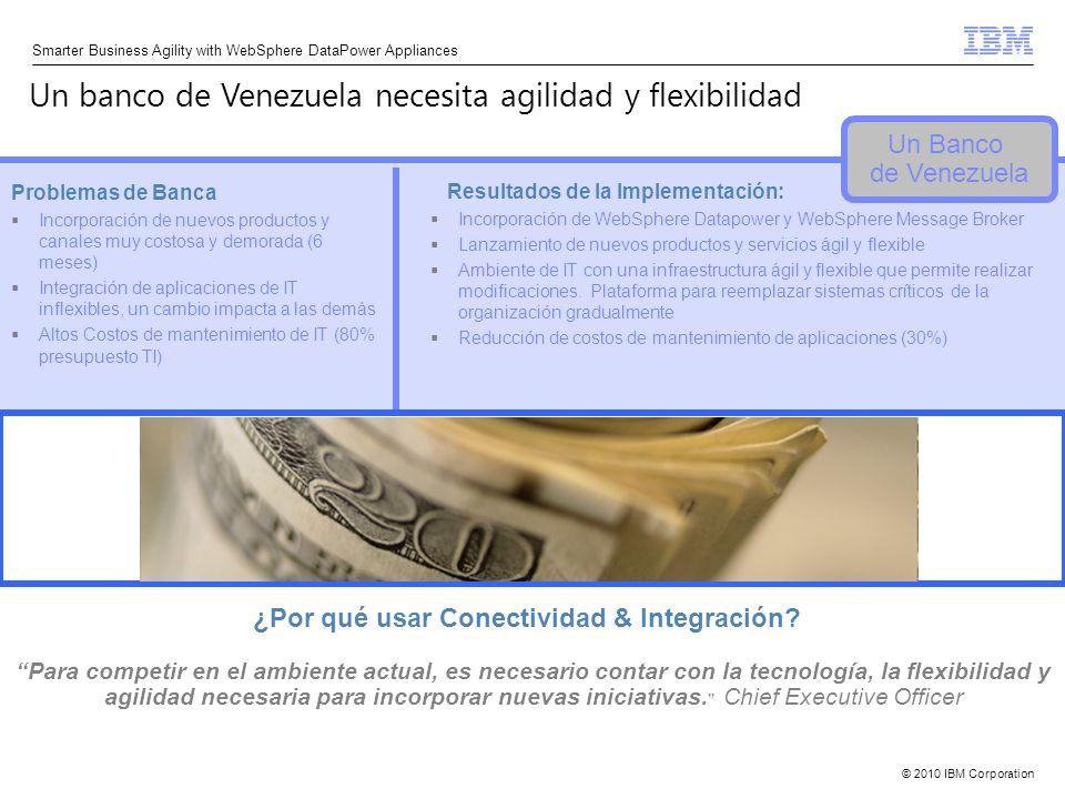 Un banco de Venezuela necesita agilidad y flexibilidad