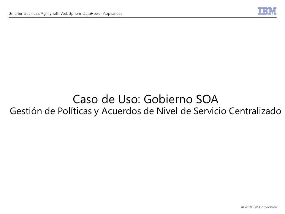 Caso de Uso: Gobierno SOA