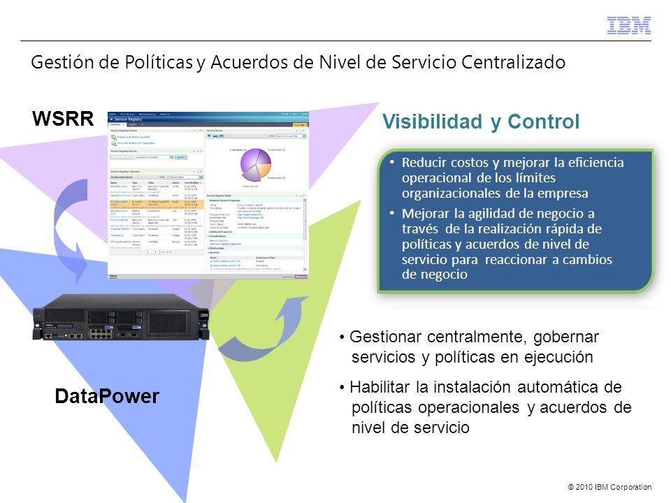 Gestión de Políticas y Acuerdos de Nivel de Servicio Centralizado